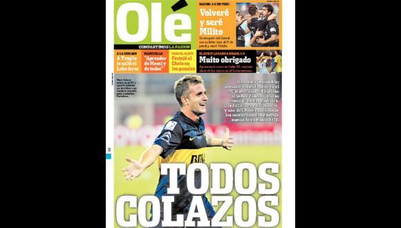 Cristal: ¿Qué dijo prensa argentina sobre triunfo de Racing?
