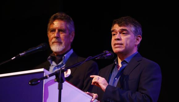 Precandidatura de Francisco Sagasti a la vicepresidencia en la lista de Julio Guzmán se mantendrá en las elecciones internas (Foto: Renzo Salazar / GEC)