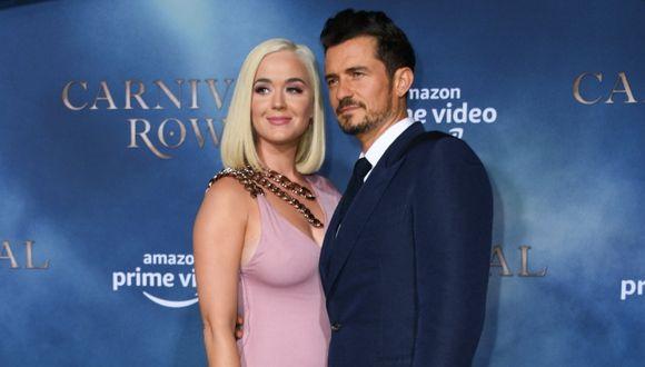 Katy Perry y Orlando Bloom están comprometidos en la actualidad y esperan a una niña. (Foto: AFP)