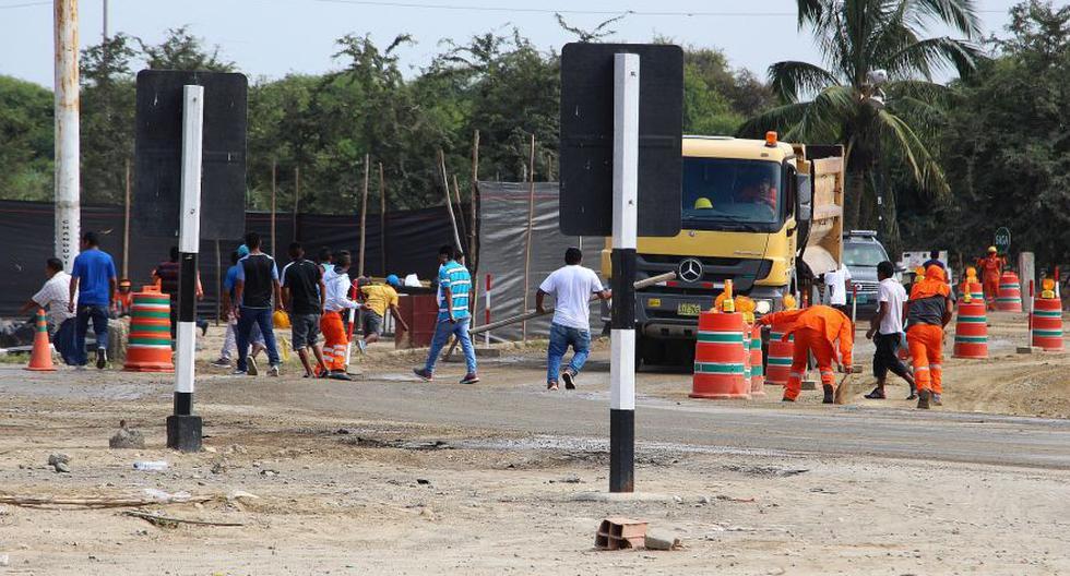 Gremios de construcción civil se enfrentaron en Piura [FOTOS] - 3