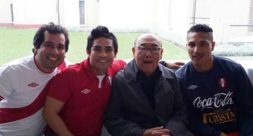 Óscar Avilés, el amuleto de la selección peruana de Markarián