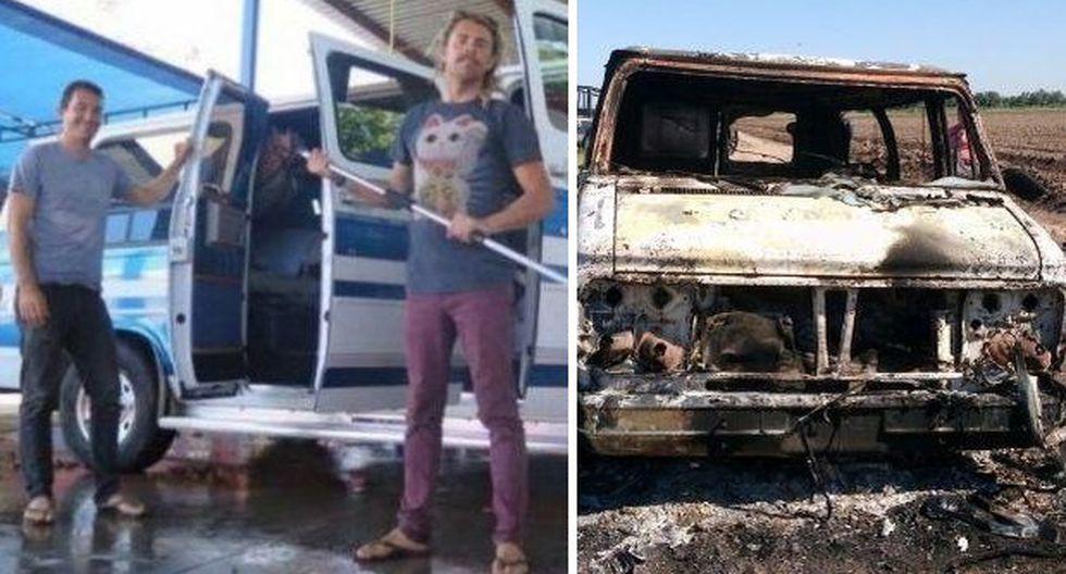 México: Cuerpos quemados son de surfistas australianos