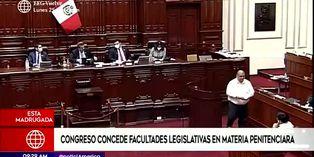 Coronavirus en Perú: Congreso concede facultades para legislar sobre penales al Ejecutivo