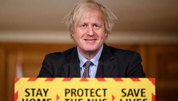 Boris Johnson anunció este lunes el plan para volver a la normalidad antes del próximo verano. (Getty Images).