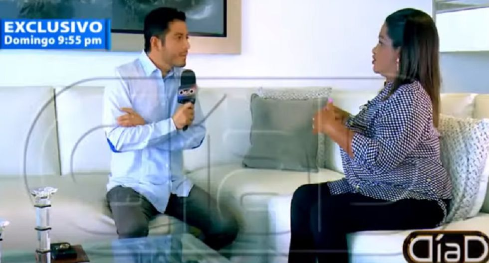 Madre del futbolista Jefferson Farfán mostró comprometedores audios de Melissa Klug. (Foto: Captura ATV)