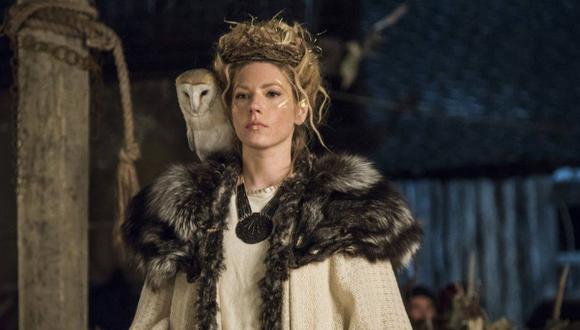 Katheryn Winnick contó todo lo que tuvo que hacer para conseguir el papel de Lagertha en el drama de época (Foto: Vikings / History Channel)