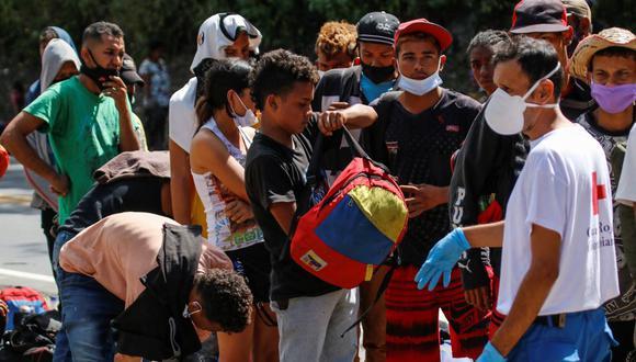 Colombia regularizará a 1 millón de migrantes venezolanos en el primer semestre del 2022. (SCHNEYDER MENDOZA / AFP).