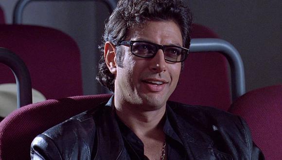 El Dr. Ian Malcolm es uno de los protagonistas principales en la franquicia de Jurassic Park (Foto: Jurassic Park / Universal Pictures)