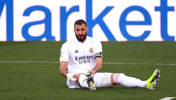 Karim Benzema se recupera de cara al derbi ante Atlético de Madrid  (Foto: AFP)