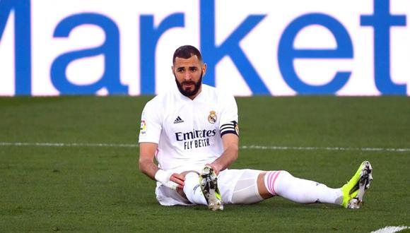 Preocupación por Karim Benzema de cara a Champions League (Foto: AFP)