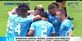 Sporting Cristal peleará por clasificación ante Barcelona