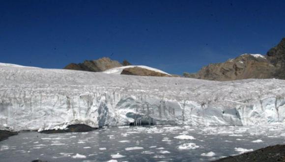 Volumen de agua en nevado Huascarán se redujo a casi su tercera parte