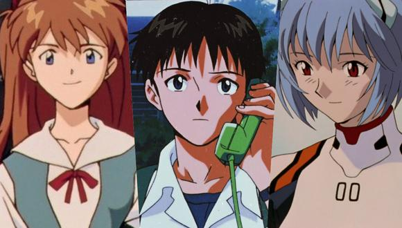 "Personajes de ""Evangelion"". (Fotos: Gainax)"