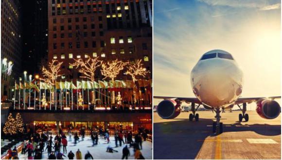"""Muchos peruanos dejan sus compras de viajes para los días previos a la Navidad, con lo que mientras más se acerque la fecha festiva, más se elevan las ventas en la categoría """"vuelos y hoteles""""."""