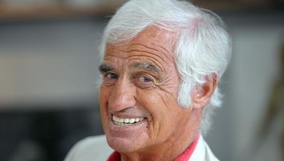 Foto del actor Jean-Paul Belmondo tomada el 9 de septiembre del 2010. El intérprete falleció el 6 de septiembre de 2021 a la edad de 88 años. (Photo by Miguel MEDINA / AFP)