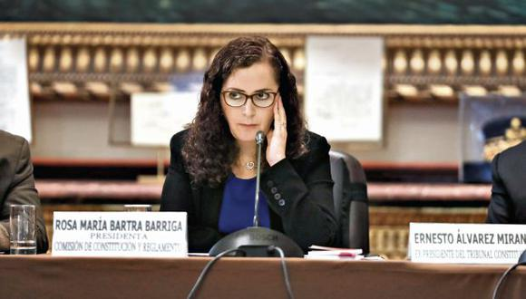 El grupo volverá a ser presidido por la fujimorista Rosa Bartra. (Foto: Renzo Salazar/ El Comercio)