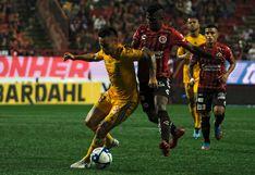 Tigres igualó 1-1 frente a los 'Xolos' de Tijuana por el Apertura de la Liga MX 2019