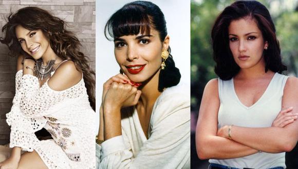 Selena Quintanilla, Mariana Levy, Lorena Rojas, Karla Álvarez, son algunas de las artistas que con su talento y carisma conquistaron al público (Foto: Televisa/ Telemundo/ Univisión)