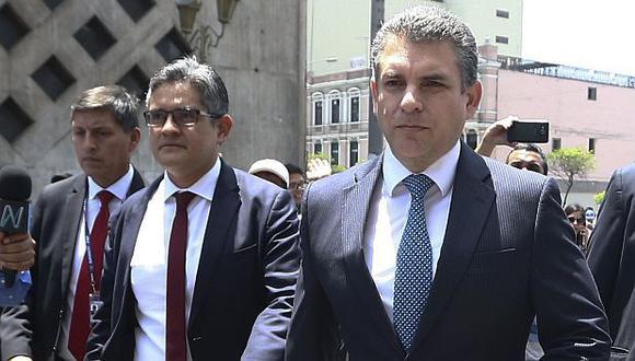 El fiscal Rafael Vela pide a Odebrecht conocer los términos de la demanda contra el Perú ante el CIADI por el Gasoducto Sur Peruano. (Foto: Alessandro Currarino / GEC)