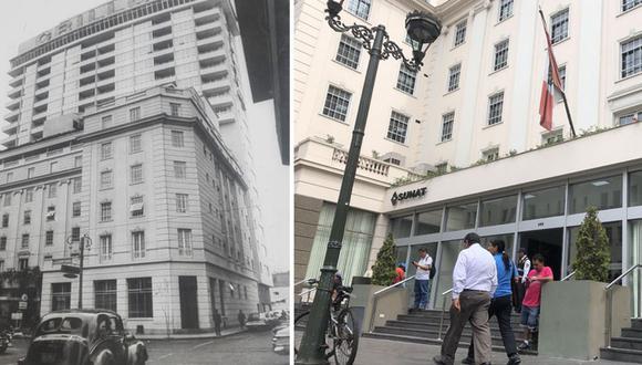 El Hotel Crillón,  ubicado en la Avenida Colmena, llegó a tener 550 habitaciones, 650 camas y 700 empleados. Ahora es un lugar donde se habla de declaraciones, comprobantes e impuestos.(Foto: Archivo El Comercio)