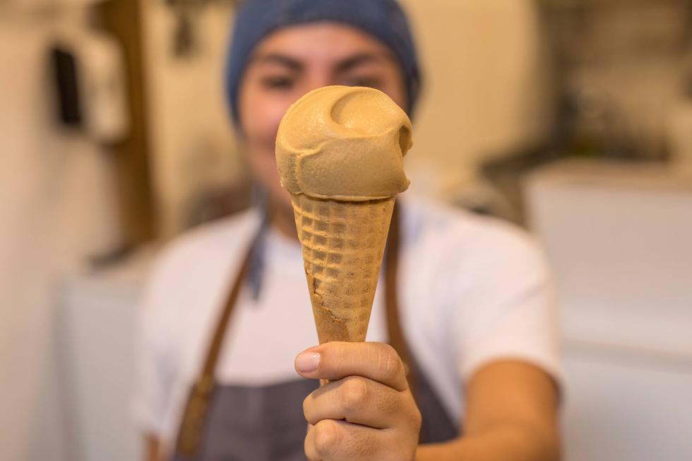 Nadie se resiste a probar uno de estos helados que cada vez tienen más seguidores. (Foto:&nbsp;Facebook Blu il gelato del barrio) <br>