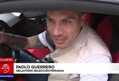 "Paolo Guerrero sobre convocatoria de Gianluca Lapadula: ""Estoy feliz por él"""