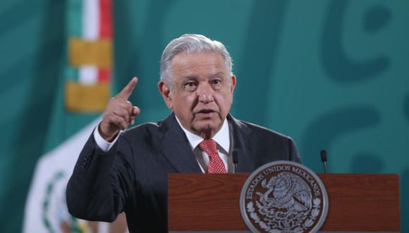El presidente de México, Andrés Manuel López Obrador, en una rueda de prensa matutina en el Palacio Nacional de Ciudad de México. (Foto:EFE/ Sáshenka Gutiérrez).