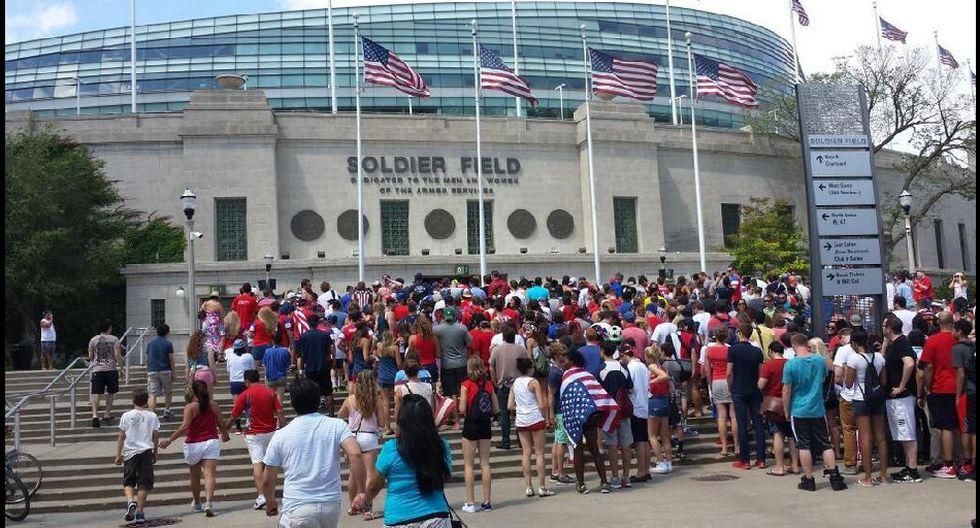 Miles siguen el EE.UU.-Bélgica en el Soldier Field de Chicago - 4