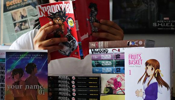 El mercado de mangas ha visto una creciente popularidad en los últimos años en el mercado internacional. (Foto: El Comercio)