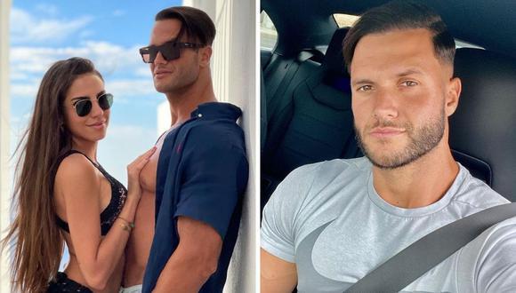 Fabio Agostini publicó fotos junto a la modelo, quien fue descalificada del programa turco. (Foto: Instagram @fabioagostinifit)