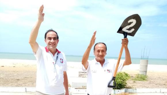 Jorge Augusto Salas Cuadros es candidato por Tumbes. (Foto: prensa del candidato)