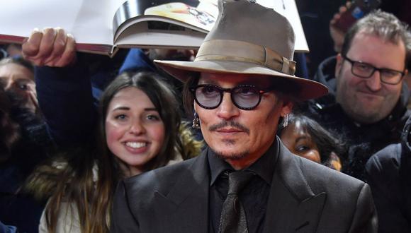 """El juez mantiene el proceso de Johnny Depp contra """"The Sun"""" por difamación (Foto: AFP)"""