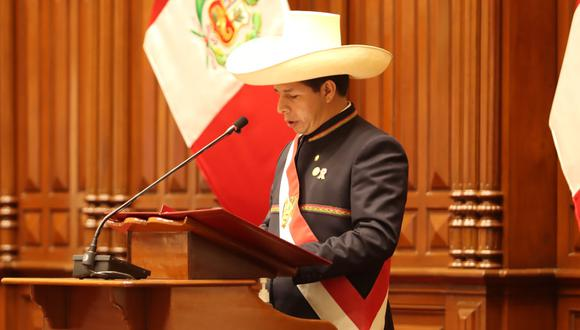 Pedro Castillo anuncia que no gobernará desde Palacio de Gobierno. (Foto: Twitter @PedroCastilloTe)