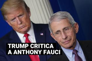 """Donald Trump llama """"idiota"""" al principal epidemiólogo de Estados Unidos y amenaza con despedirle"""