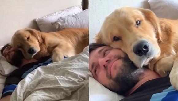Tierno perro le da los buenos días a su dueño que todos quisiéramos tener (Foto: Charlie and Bodie)