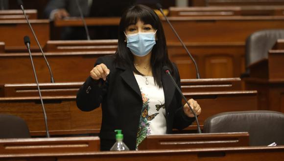 La congresista Mirtha Vásquez señaló que la agenda del Congreso debe estar centrada en los intereses de la población. (Foto: Andina)