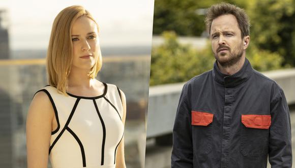 """Los destinos de Dolores (Evan Rachel Wood, izq.) y Caleb (Aaron Paul, der.) colisionan en la nueva temporada de """"Westworld"""". Foto: HBO."""