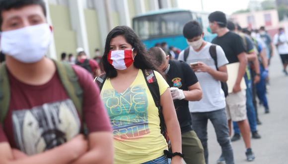 Coronavirus Perú | Todas las personas que salgan a la calle tendrán que usar mascarillas. (Foto: GEC)