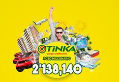 La Tinka, sigue aquí el sorteo del domingo 24 de octubre  transmisión en vivo, horario y resultados