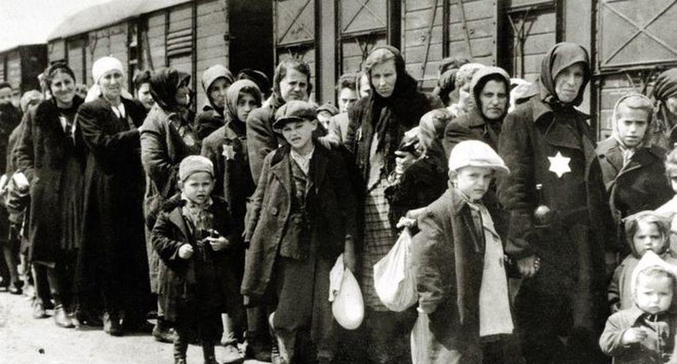 Al menos 1,3 millones de personas fueron enviadas a Auschwitz-Birkenau durante la guerra, el 90% de ellos eran judíos. (Foto: Getty Images, via BBC Mundo)
