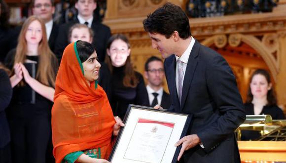 Canadá concede la ciudadanía honoraria a Malala Yousafzai