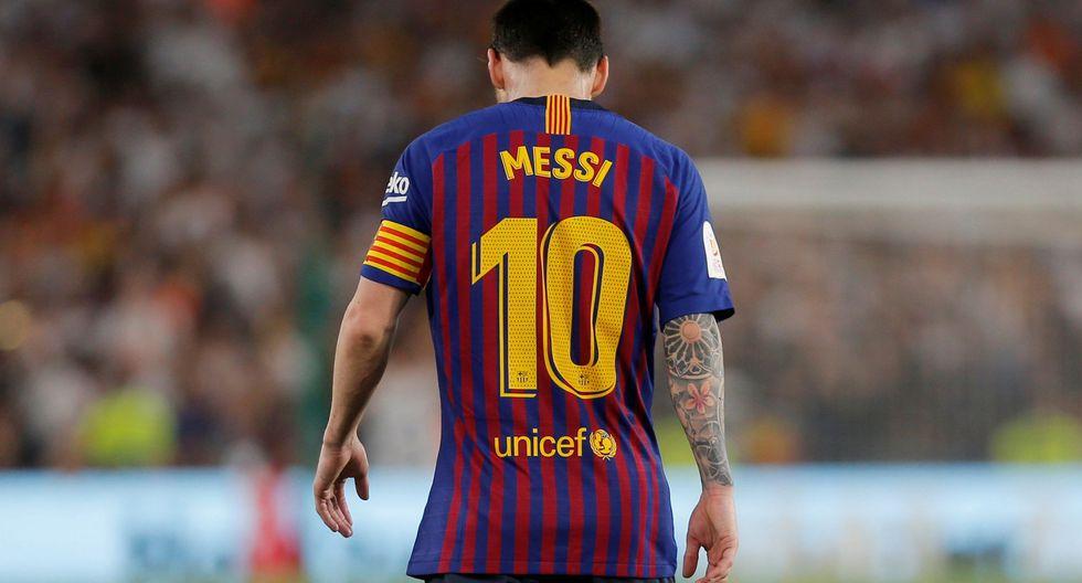 Barcelona vs. Valencia: Messi y su espectacular definición de zurda que se estrelló en el palo | VIDEO. (Foto: AFP)