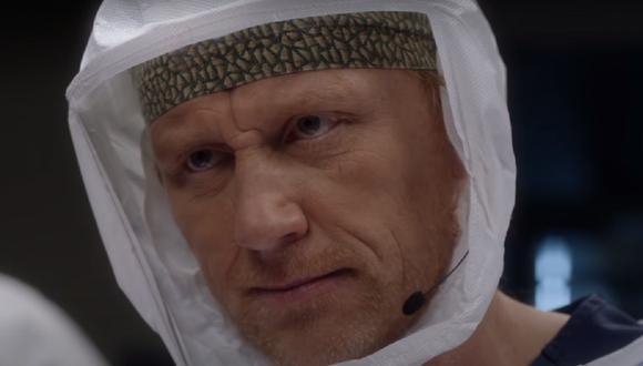"""Owen no logró salvar a su compañero en el séptimo episodio de la temporada 17 de """"Grey's Anatomy"""" (Foto: ABC)"""