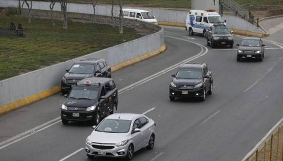 Los autos particulares podrán circular con normalidad este domingo 8 de agosto en Lima y Callao | Foto: Referencial / El Comercio