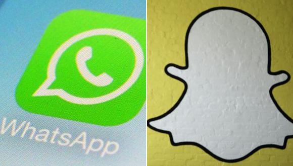 WhatsApp y Snapchat lideran el aumento de fotos compartidas