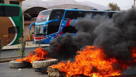 El fiscal coordinador Armando Ortiz precisó que los transportistas pueden protestar sin ocasionar disturbios y deben respetar las restricciones impuestas por la declaración del estado de emergencia sanitaria. (Foto: HugoCurotto / @photo.gec)