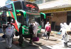 Coronavirus en Perú: unas 200 personas llegan a Huancayo y son aisladas en hoteles por prevención