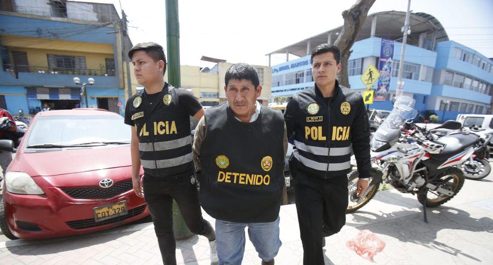 Julio Tito Quispe, es acusado de haber secuestrado e intentado violar a una niña de 6 años en La Victoria. (Foto: Cesar Grados)