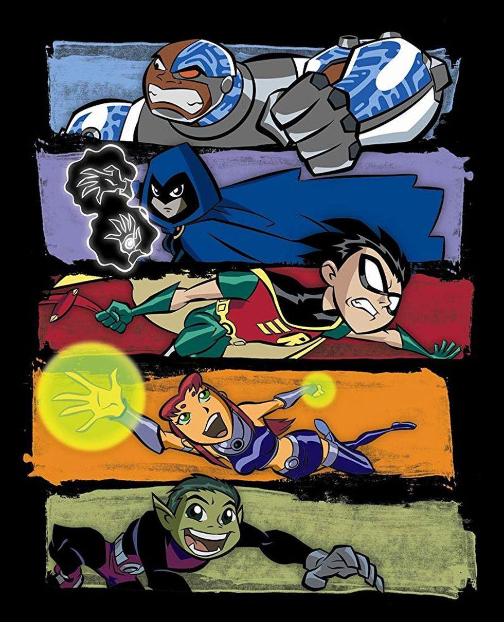 """Otro póster de """"Teen Titans"""" (Foto: Cartoon Network)"""