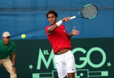 Juan Pablo Varillas cayó ante Schnur por la clasificatoria al Grand Slam de Roland Garros